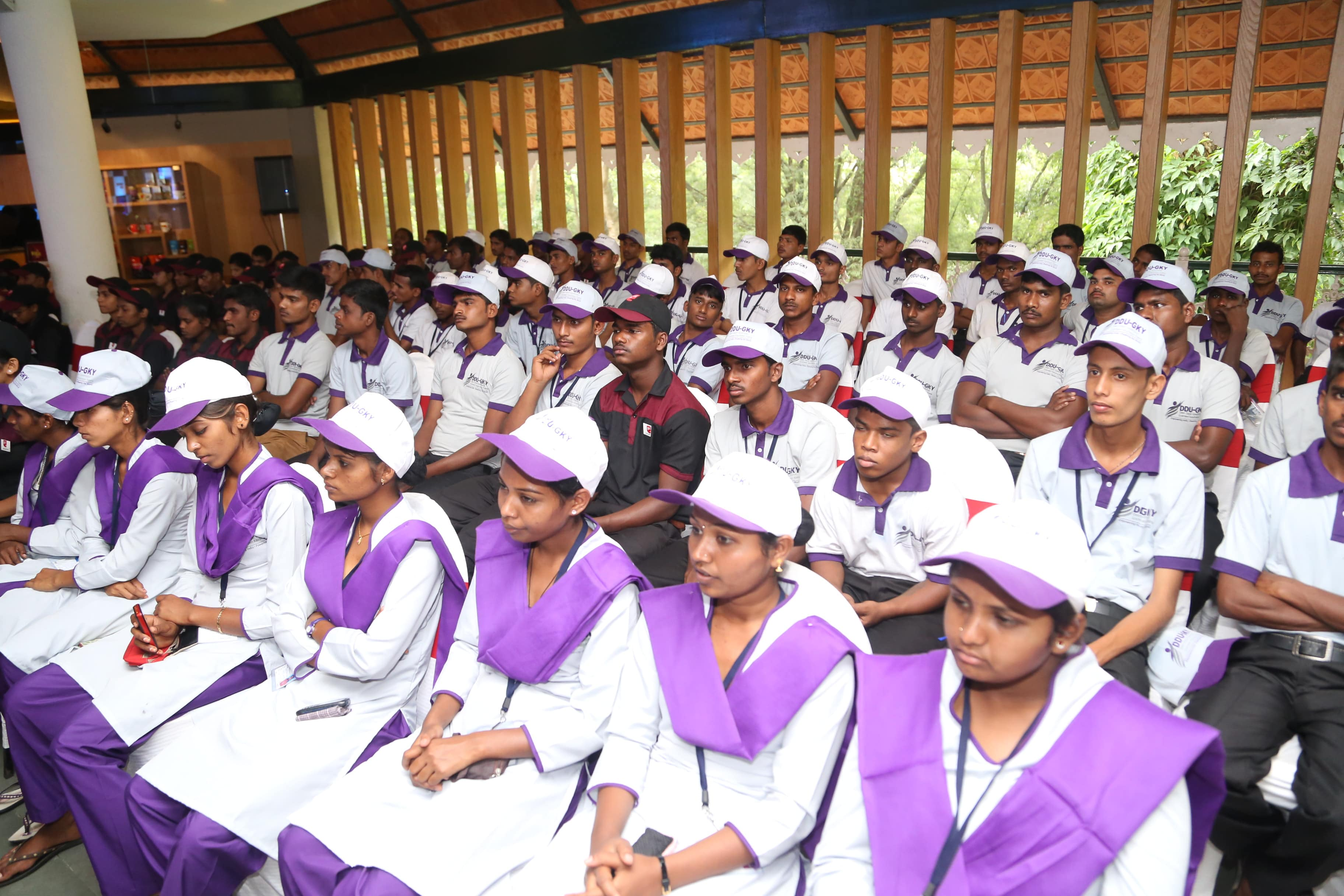 Gathering of the DDU-GKY students during event-3
