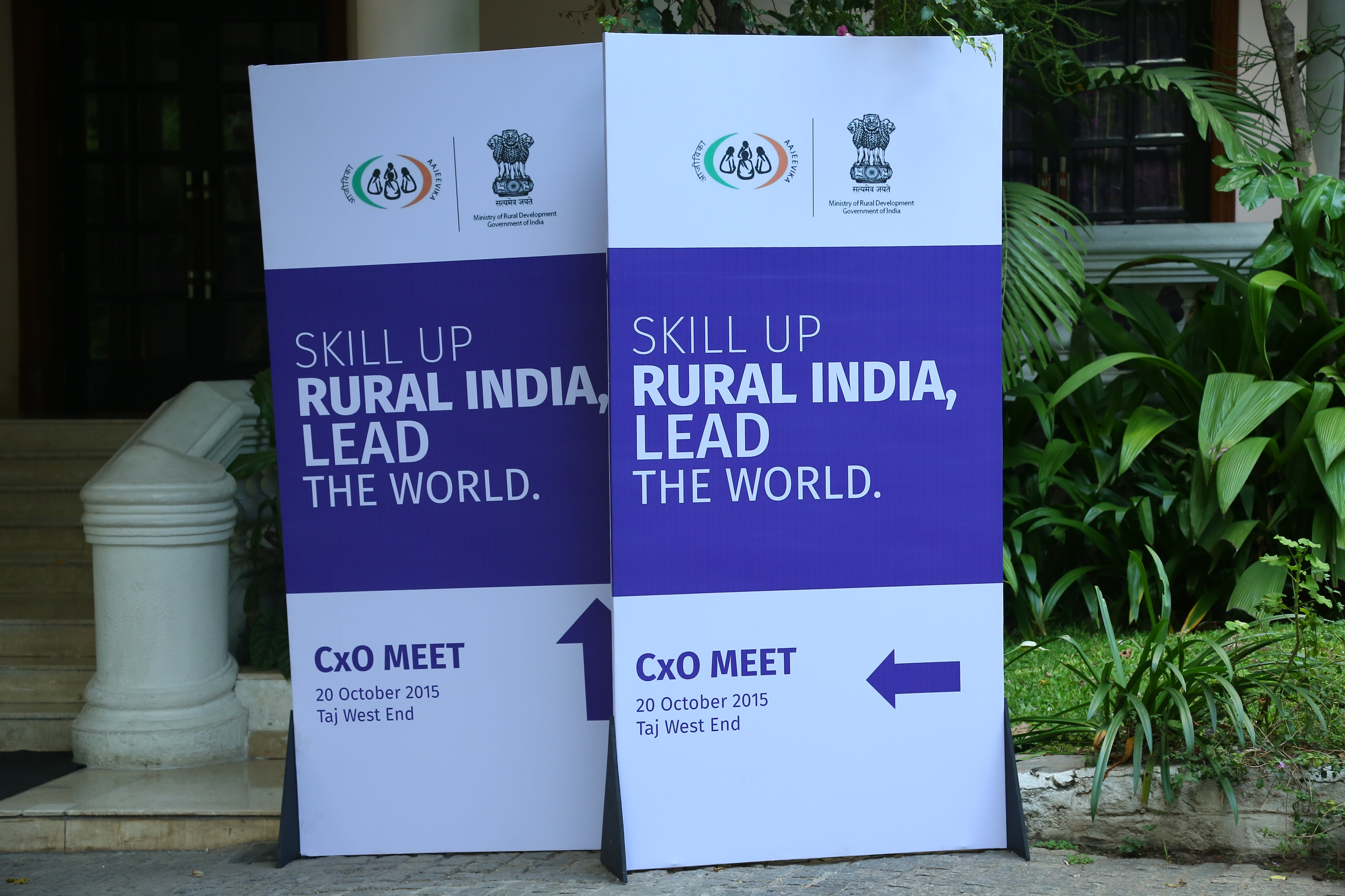 Standee of the event- CXO Meet