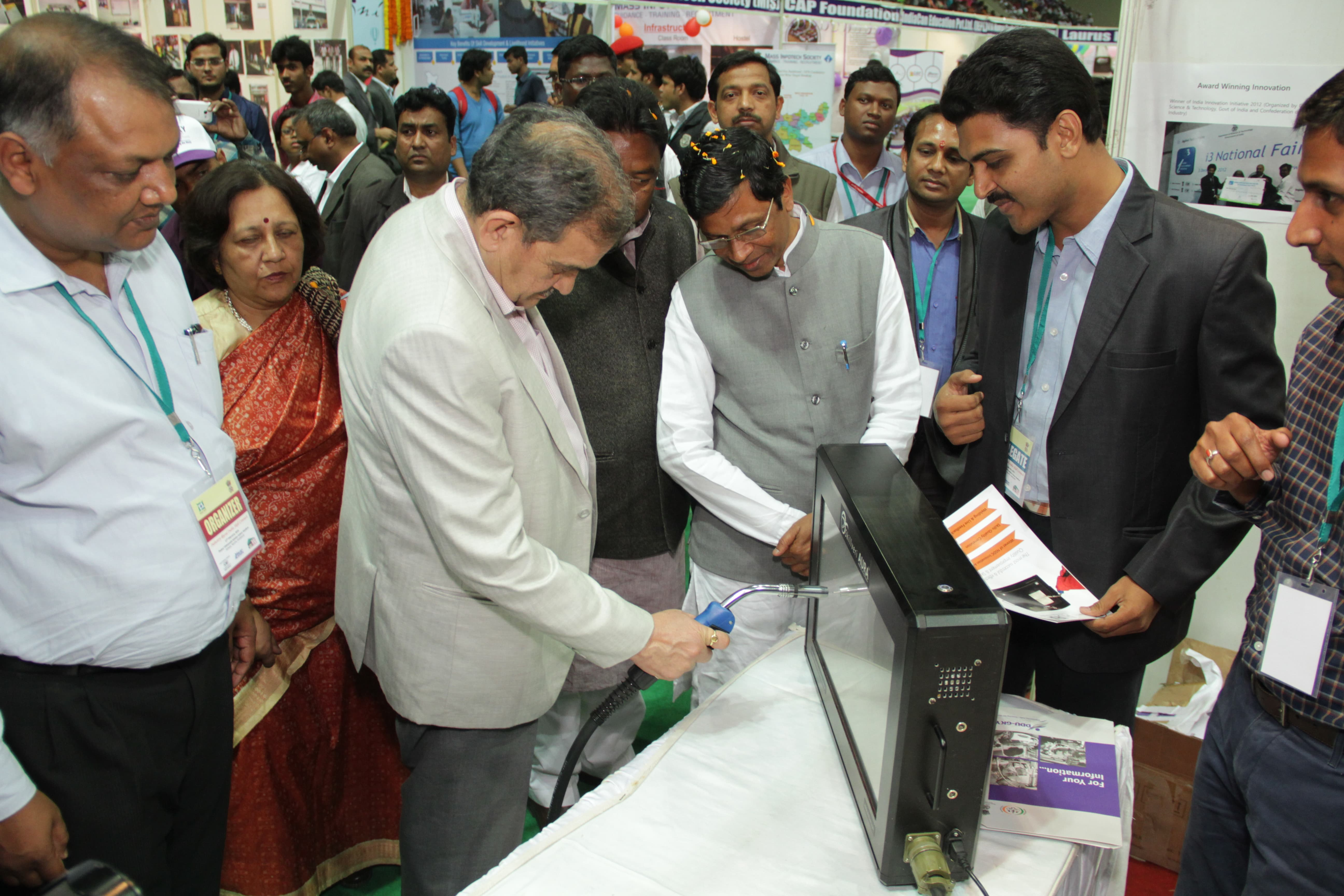 Visit to stall by VIPs