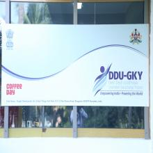 Banner of the DDU-GKY with Training Partner CCD