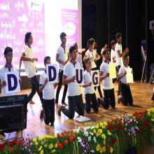Dance Performance by DDU-GKY Candidates during the Event