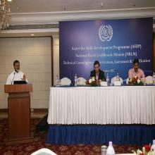 Dr. Santhosh Mathew, JS (Skills) addressing the gathering-2