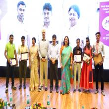 Felicitation of Placed Candidates by Dignitaries
