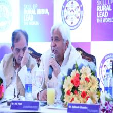 Hon'ble Minister Shri H K Patil,Govt. of Karnatka, responding the query