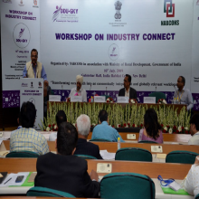 Mr. Amarjeet Sinha, Secretary-RD, addressing the gathering