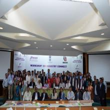 Photograph of all participants with Joint Secretary-Skills and NABCONS team